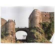 Château de Bouillon - Belgique. Poster