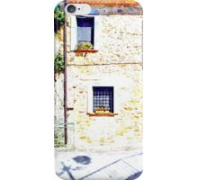 Laurana Cilento: house facade with windows iPhone Case/Skin