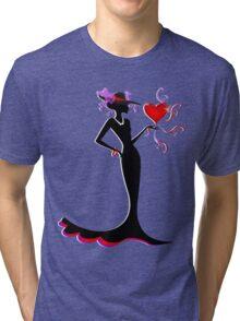 She is Lady ... Tri-blend T-Shirt