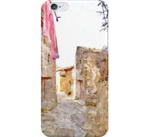 Laureana Cilento: view alley iPhone Case/Skin