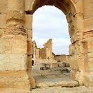Through the Archway  Sbleita  Tunisia by DeborahDinah