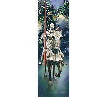 """Shining Armor"" Watercolor Photographic Print"