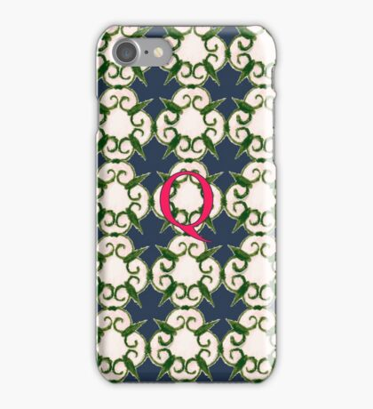 The Venetian Print - Q iPhone Case/Skin