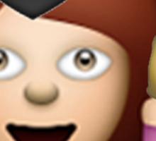 Graduation Girl Emoji Sticker