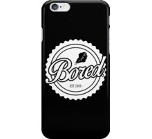 BORED. Stamp iPhone Case/Skin