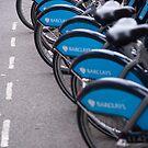 Boris Bikes by Christopher Cullen