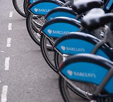 Boris Bikes by Christopher Cullen