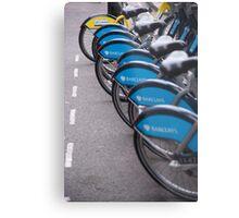 Boris Bikes Metal Print