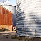 Farm light & shadow by Christopher Cullen