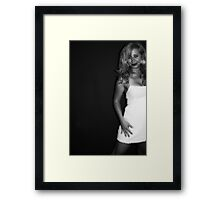 At the Last Minute Framed Print
