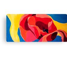 poppyfied Canvas Print