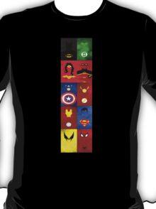 Superhero Panel T-Shirt