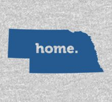 Nebraska Home Blue by USAswagg2