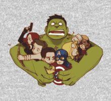 Avengers crazy art by LoGiRotorb