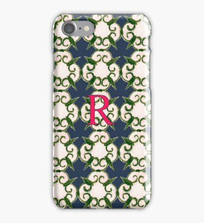 The Venetian Print - R iPhone Case/Skin