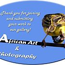 African Art & Photography welcome banner...  by Qnita
