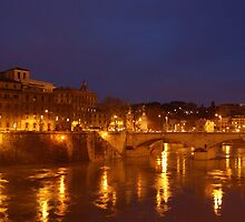 view of the tiber by Flipsy