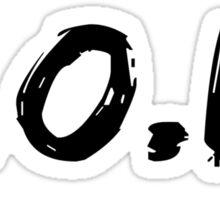 That F.O.D. Logo Sticker