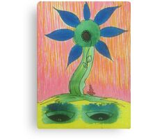 funky flower 3 Canvas Print