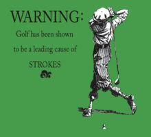 Golf Warning by yvonne willemsen