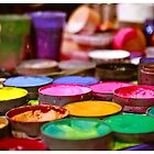 Pots of paint by Cvail73