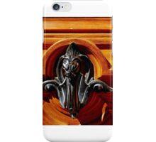 Door knocker in Paris. iPhone Case/Skin