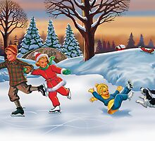 skating with dick jane and sally by larry ruppert