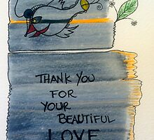 thank you for your beautiful love by jojoerwin