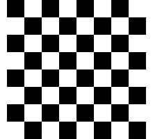 Classic chequered flag Photographic Print