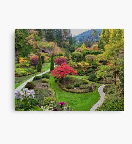 Butchart Gardens Canvas Print