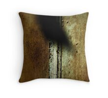 shutter with shadow Throw Pillow
