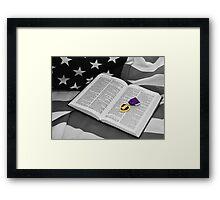 Prayer for Hearts Framed Print