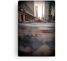 rushing home Canvas Print