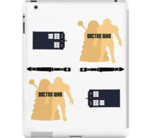 Doctor Who Pattern 1 iPad Case/Skin
