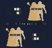 Doctor Who Pattern 1 Kids Tee