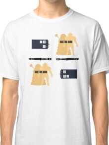 Doctor Who Pattern 1 Classic T-Shirt