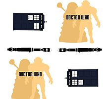 Doctor Who Pattern 1 by Funky-Designs
