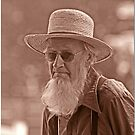 Amish Portrait by Chet  King