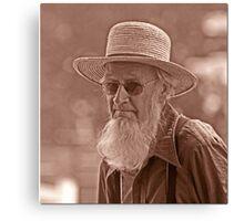 Amish Portrait Canvas Print