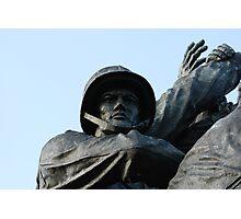 Iwo Jima Memorial Photographic Print