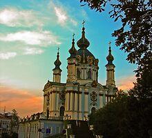 Saint Andrew's Church of Kiev by LudaNayvelt