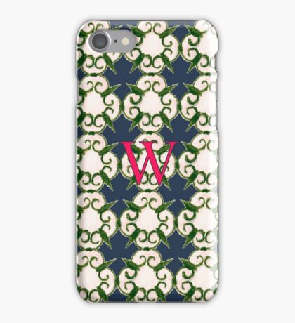 The Venetian Print - W iPhone Case/Skin