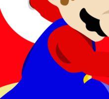 Super Smash Bros Mario Sticker