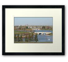 Winnipeg from Kilcona Park Framed Print