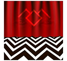 Twin Peaks - The Red Room Photographic Print
