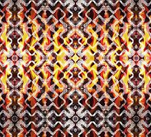 Tribal Fire Pattern by webgrrl