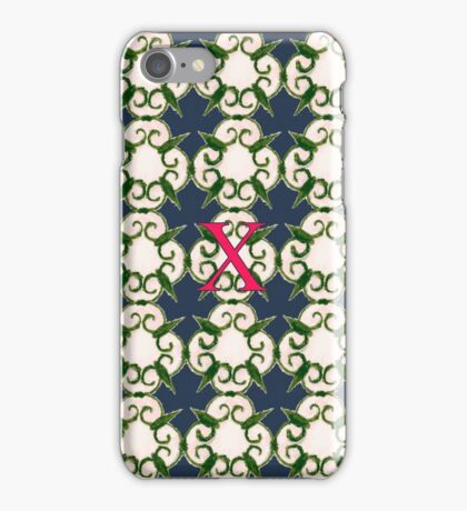 The Venetian Print - X iPhone Case/Skin