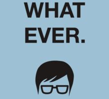 Funny Hipster Glasses Ironic Whatever Humor Kids Clothes