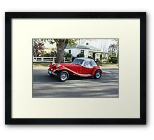 Is this an MG! Framed Print