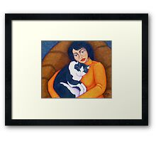 Morgana with Woman  Framed Print